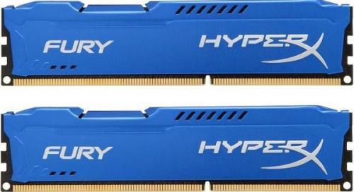 Цена на Kingston HyperX Fury Blue Series DDR3 1600 МГц 8 Гбайт около 4200 рублей