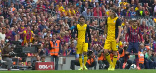 Барселона против Атлетико Мадрид 4K Футбол: Образец, Кадры