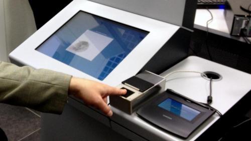 оформления загранпаспорта с отпечатками пальцев