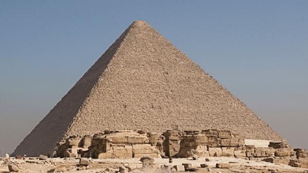бок пирамиды