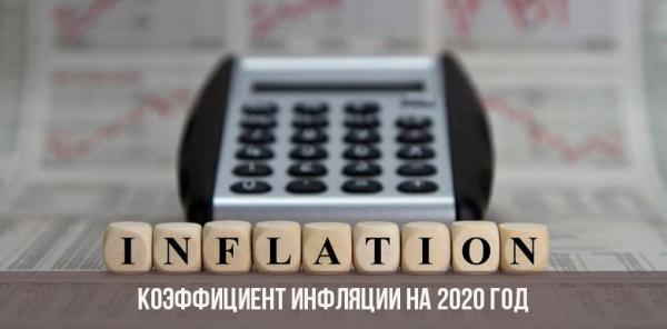 Прогноз инфляции до 2020 года в России
