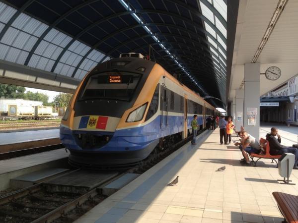 молдова-поезд