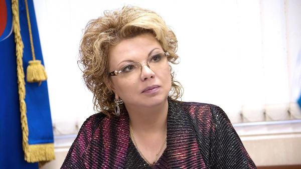 Председатель Комитета покультуре Елена Ямпольская
