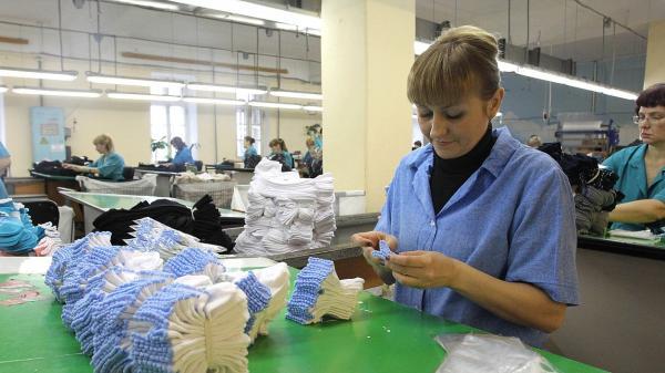 носки фабрика трикотаж легкая промышленность завод предприятие рабочий