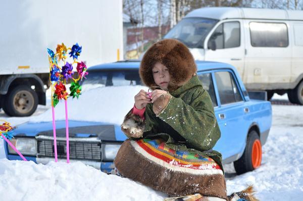 Дети Крайнего севера. Источник: Городской портал Сургута http://osurgut.com